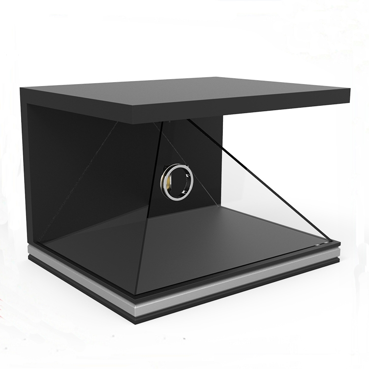 3D holographic display case